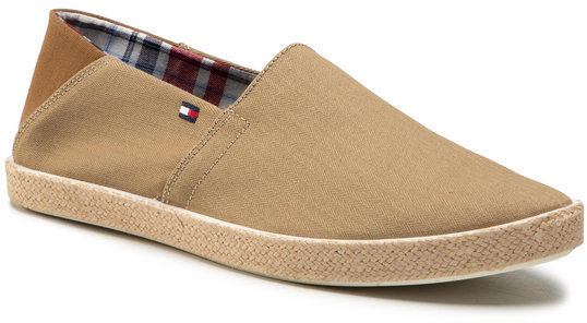 Tommy Hilfiger Espadryle Easy Summer Slip On FM0FM00569 Beżowy
