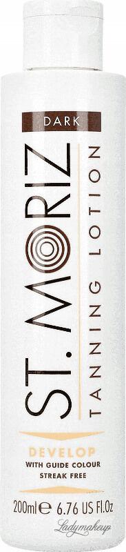 ST. MORIZ - Tanning Lotion - Samoopalający balsam do ciała w żelu - Dark - 200 ml