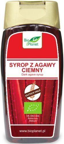 Syrop z Agawy Ciemny BIO 350g (250ml) - Bio Planet - EKO