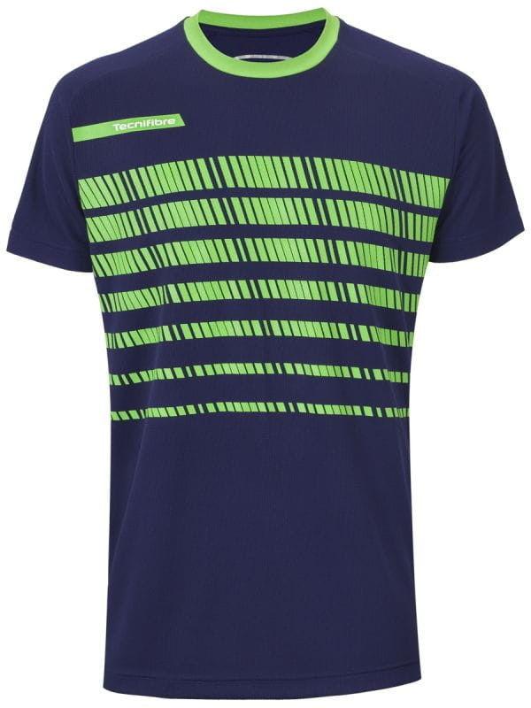 Tecnifibre F2 T-Shirt Jr - navy/green