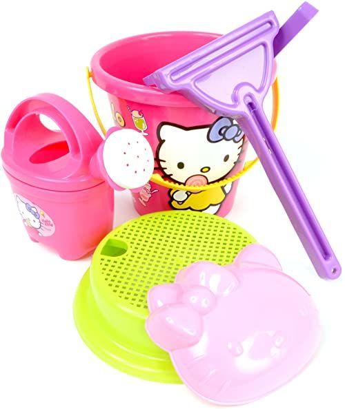 Androni Giocattoli S.R.L. Hello Kitty wiadro (6-częściowy, 15 sztuk)