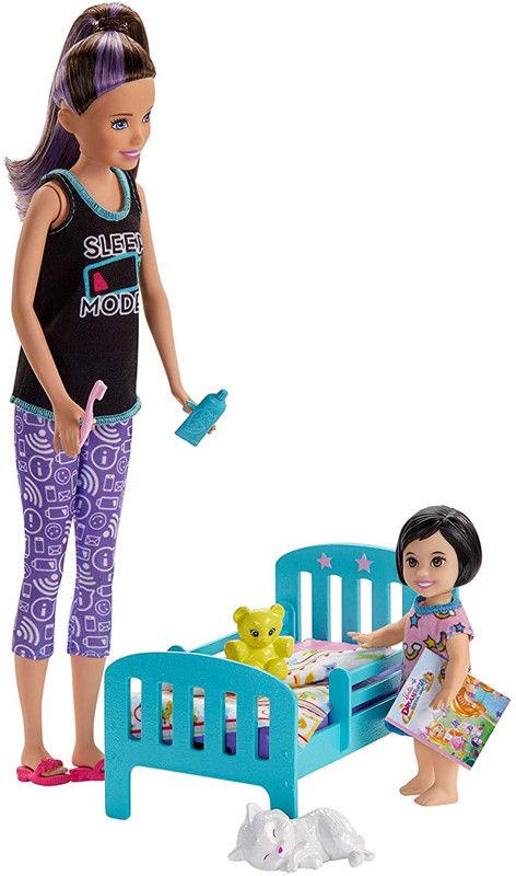 Barbie - Opiekunka dziecięca Zestaw Słodki sen GHV88