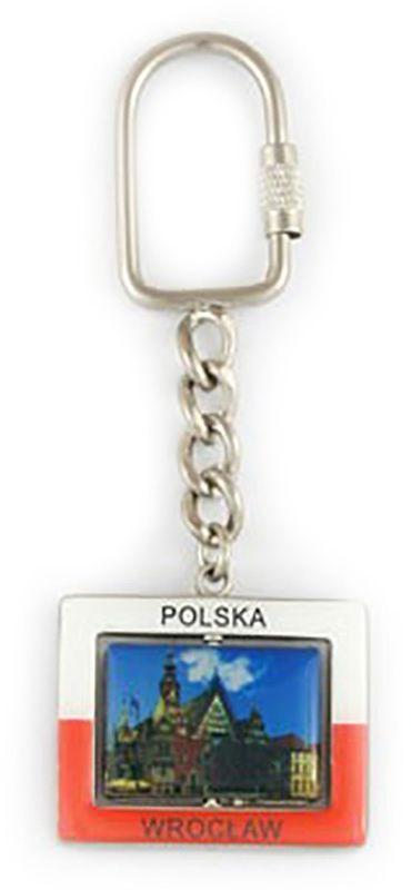 Brelok prostokątny Wrocław