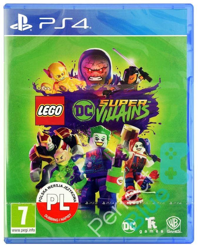 LEGO DC Super-Villains Złoczyńcy / PS4 / Przedsprzedaż / CH Land Warszawa Mokotów Ursynów Przy Metrze Służew