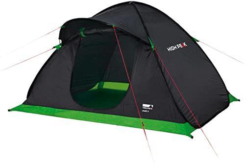 High Peak 10144 Namiot, Antracytowy/Zielony, 1-2 Osobowy