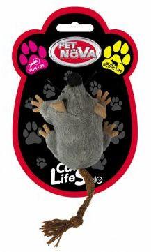 CAT LIFE STYLE Zabawka dla Kota Myszka Pluszowa 7x5cm
