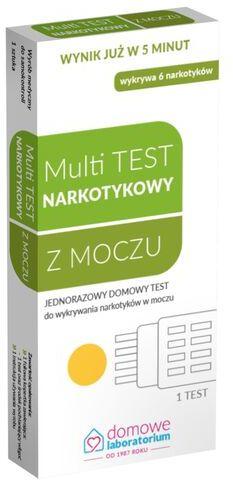 Test do wykrywania narkotyków w moczu Multi Test Narkotykowy Hydrex