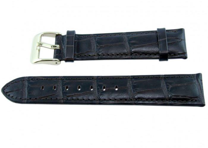 Pasek BISSET BS151 20mm brązowy