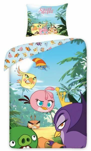 Pościel Angry Birds 160x200 H 2448 Stella