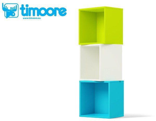 Color Box Timoore laminat półka wisząca kwadrat