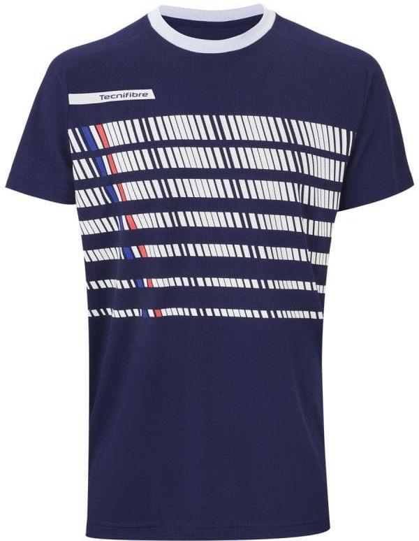 Tecnifibre F2 T-shirt Jr - navy/white