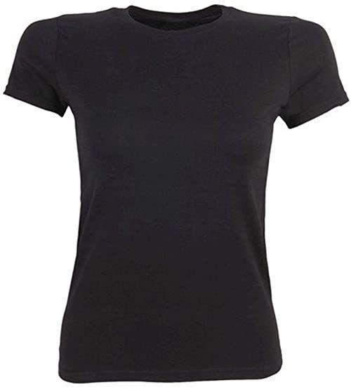 HKM Dorośli T-shirt damski 3000 czerwony XL spodnie, 3000 czerwony, XL