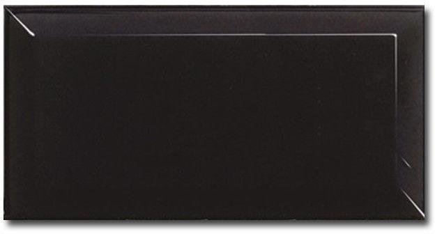 Equipe Metro BLACK MATT 10 x 20 cm