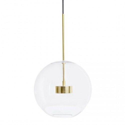 CAPRI 1 - szklana lampa wisząca