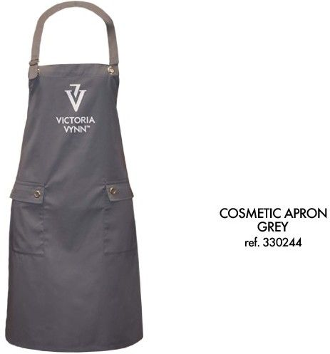Fartuch Kosmetyczny Szary Victoria Vynn