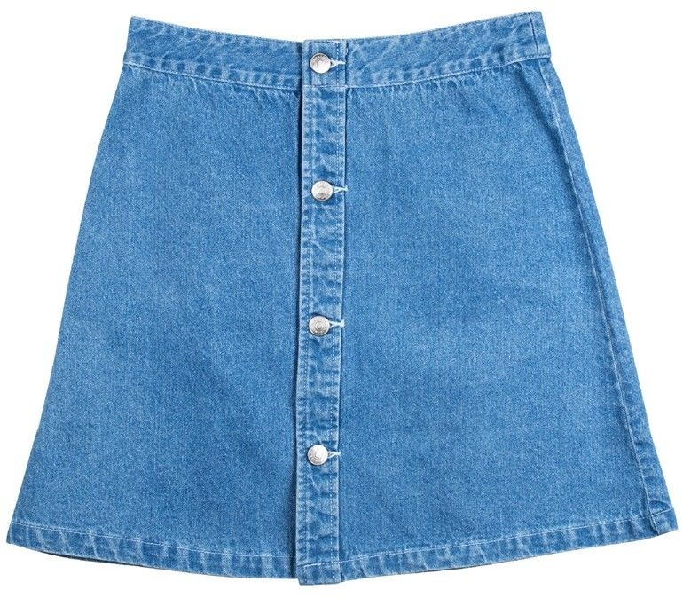 spódnica SANTA CRUZ - Screaming Hand Skirt Light Denim (LIGHT DENIM)