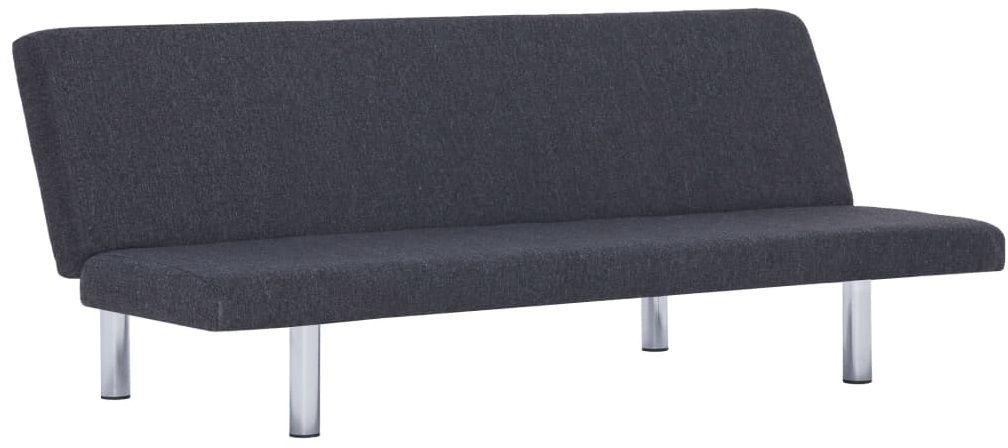 Tapicerowana sofa Melwin 2X  ciemnoszara