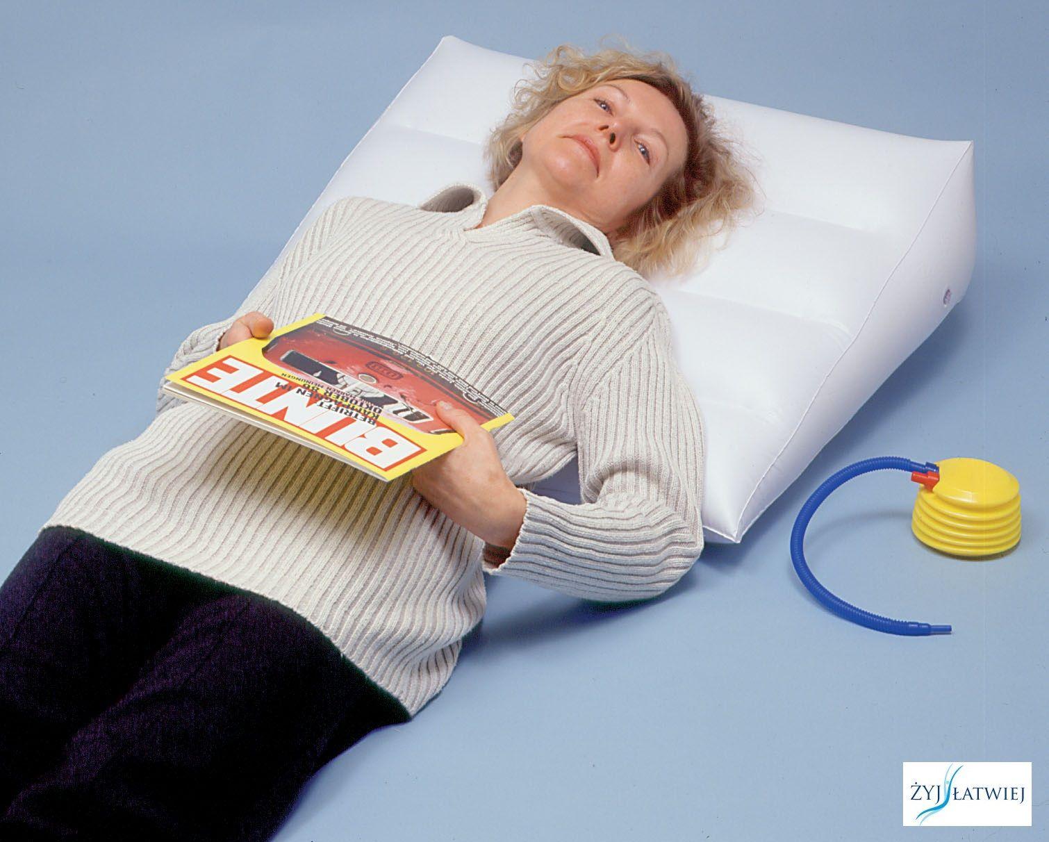 Poduszka ortopedyczna nadmuchiwana