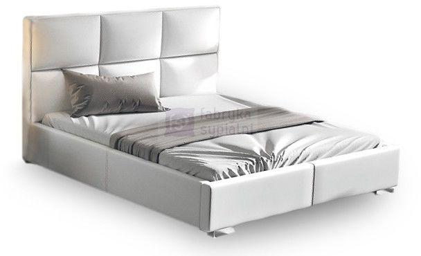 Łóżko tapicerowane Quaddro Plus z pojemnikiem New Design