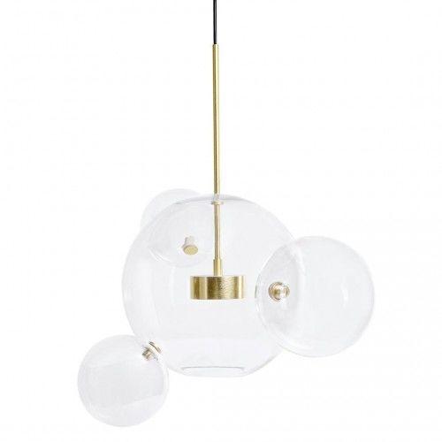CAPRI 4 - szklana lampa wisząca