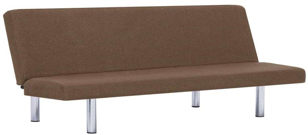 Sofa minimalistyczna Melwin 2X  brązowa