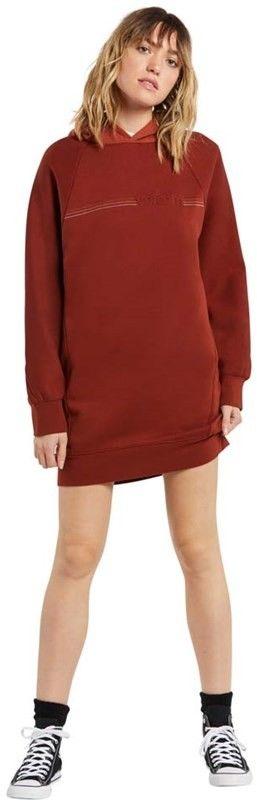 sukienka VOLCOM - Needeet Dress Brick (BRK)