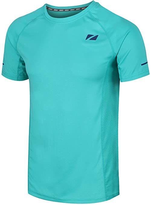 ZONE3 Męska koszulka Activ Lite, turkusowa zieleń/benzyna, L