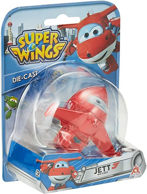 Super Wings Seria 1 odlew ciśnieniowy - Jett