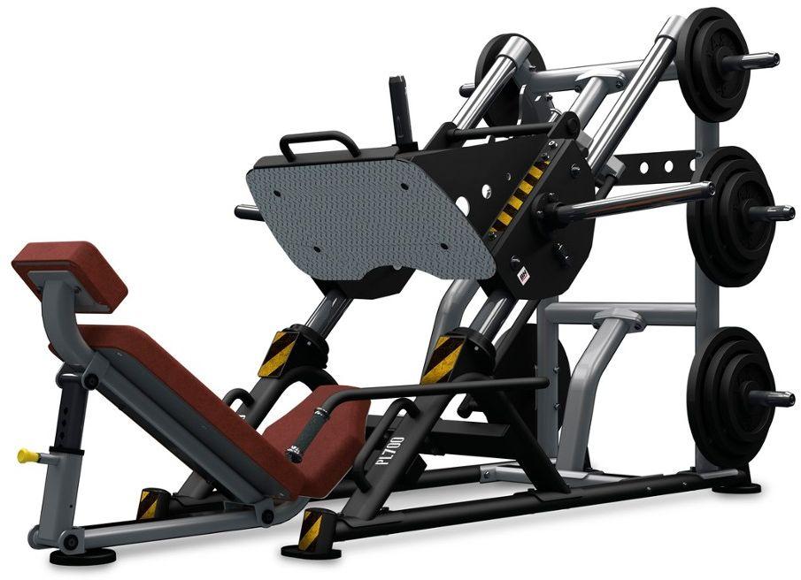 Maszyna półwolna (suwnica) do ćwiczeń mięśni nóg Leg Press 45  BH Fitness