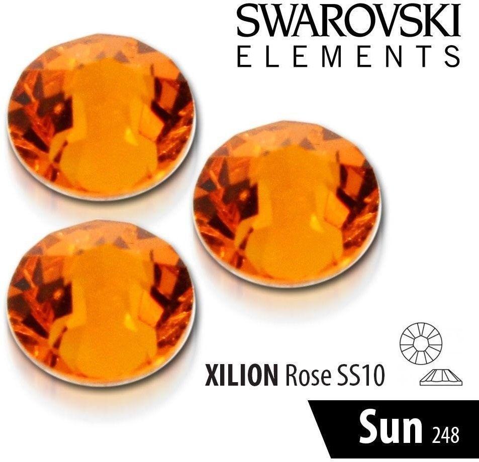 Cyrkonie Swarovski - Ss 10 - 248 Sun 50 Szt.