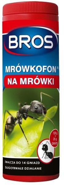 BROS Mrówkofon trutka na mrówki 120 g + 25 g GRATIS!