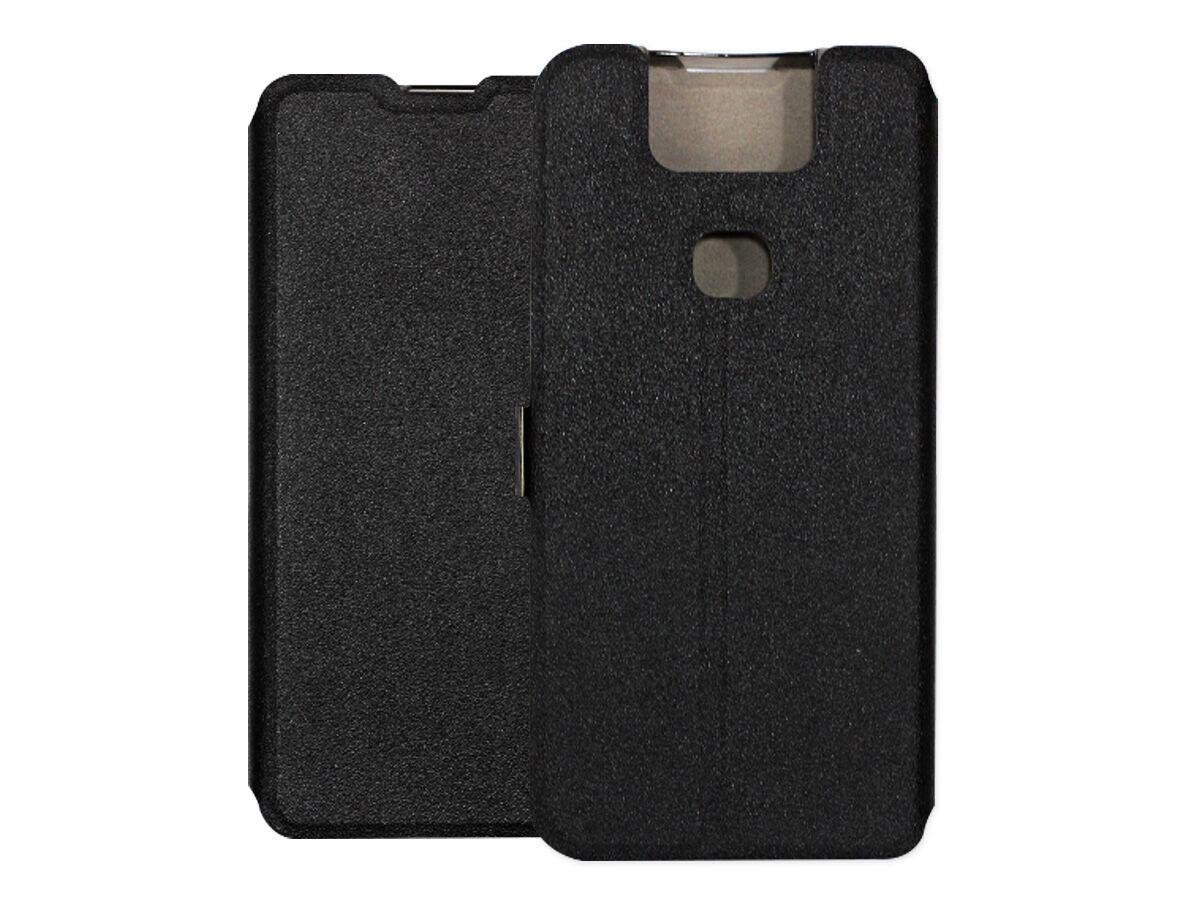 Asus Zenfone 6 (ZS630KL) - etui na telefon Wallet Book - czarny