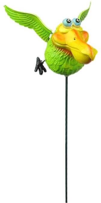 Ozdoba na piku ptak