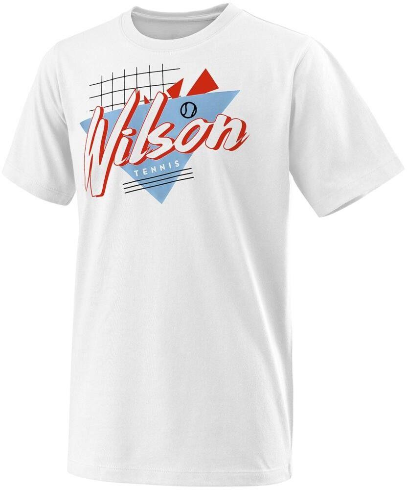 Wilson Nostalgia Tech Tee B - white