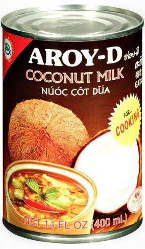 Mleko kokosowe do gotowania w puszce 400ml - Aroy-D