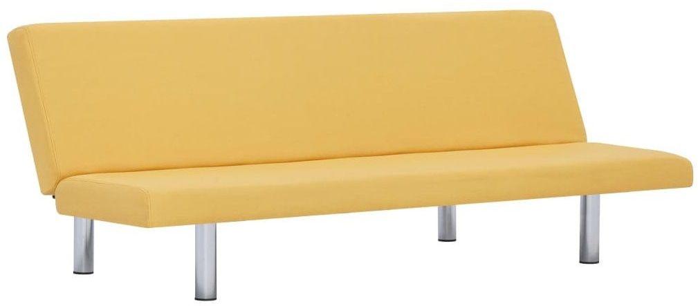 Sofa tapicerowana Melwin 2X  żółta