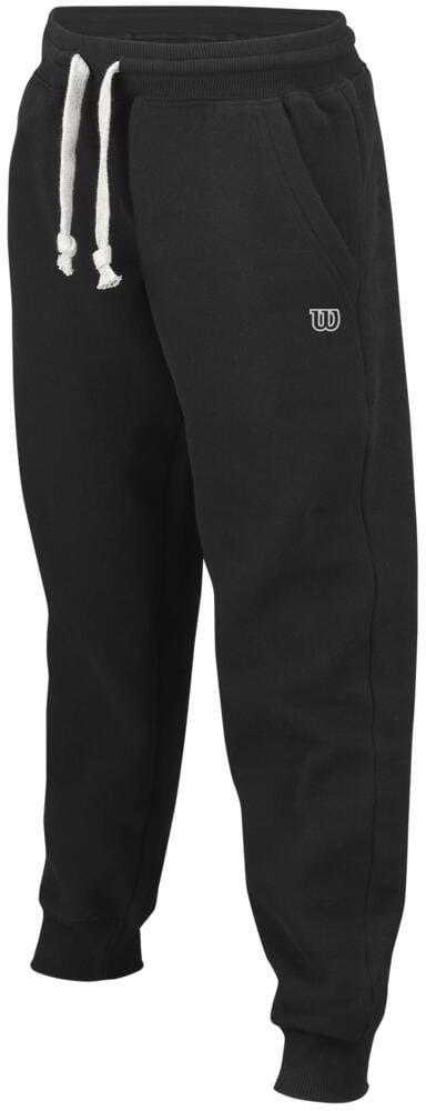 Wilson Cotton Pant B - black