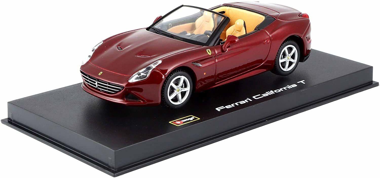 Bburago 15636903 - Ferrari California T, Open Top, proste modele do gry