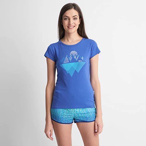 ELBRUS Koszulka damska AGULITA WO''S, Amparo Blue, XL
