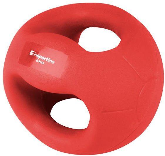 Piłka lekarska z uchwytami Grab Me 6 kg Insportline