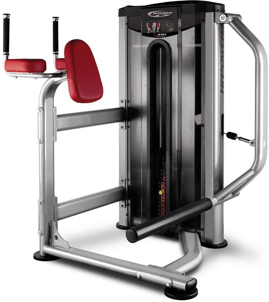 Maszyna do ćwiczeń mięśni nóg Gluteous Kneeling L330 BH Fitness