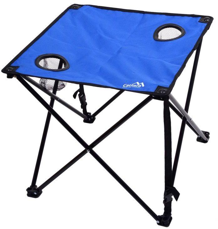 Składany stół kempingowy LISBOA niebieski