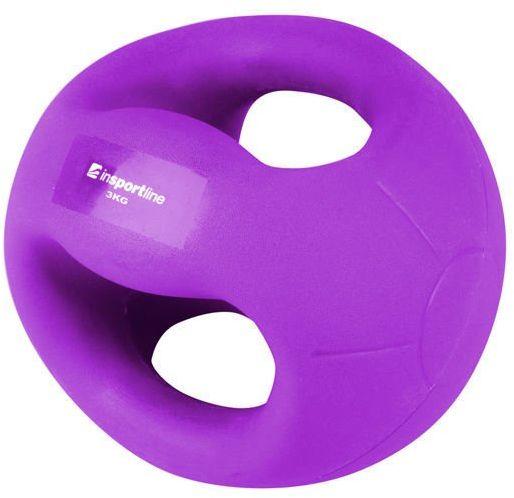 Piłka lekarska z uchwytami Grab Me 3 kg Insportline