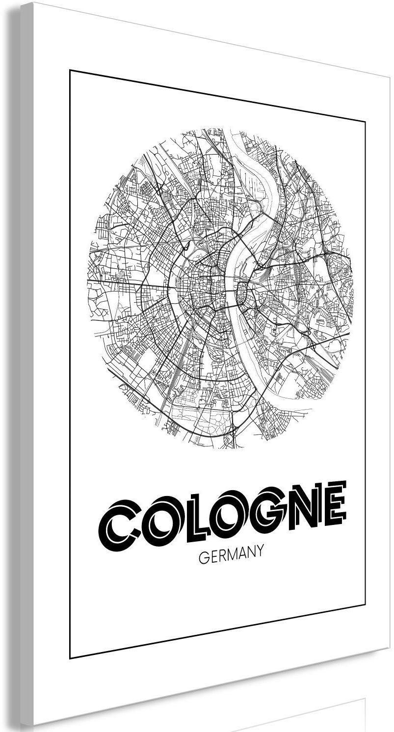 Obraz - retro kolonia (1-częściowy) pionowy
