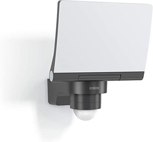 Steinel Reflektor LED XLED PRO 240 V2 antracyt, 20 W, czujnik ruchu 240 , 3000 K ciepła biel, w zestawie uchwyt ścienny narożny