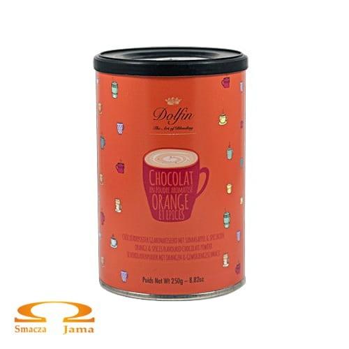 Czekolada pitna Dolfin z Pomarańczą i Przyprawami 250g