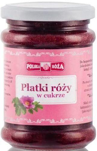Konfitura z Płatków Róży w Cukrze 320g - Polska Róża