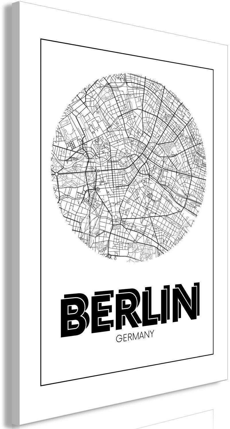 Obraz - retro berlin (1-częściowy) pionowy