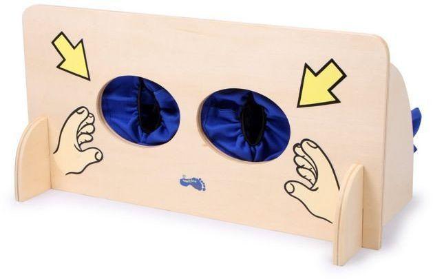 Ściana zmysłów, 6570-small foot design, zabawy edukacyjne