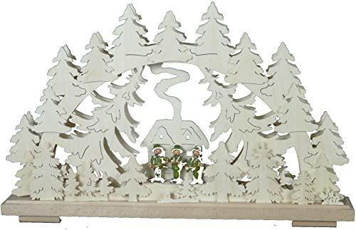 SchwibboLa BS 3-20 SchwibboLa BS 3-20 podwójny świecznik z certyfikatem BS 3-20, 50 x 30 cm